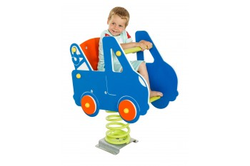Spring Rocker Tow Truck with back rest