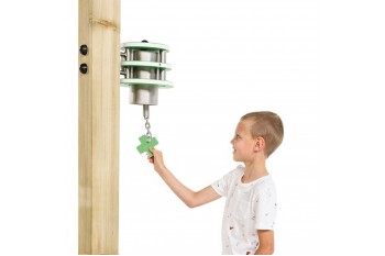 Commercial Special Needs Play Equipment Bell 'x'-Stainless Steel HDPE KBT