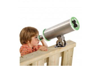 Commercial Special Needs Play Equipment Telescopes 'x'-Stainless Steel HDPE KBT