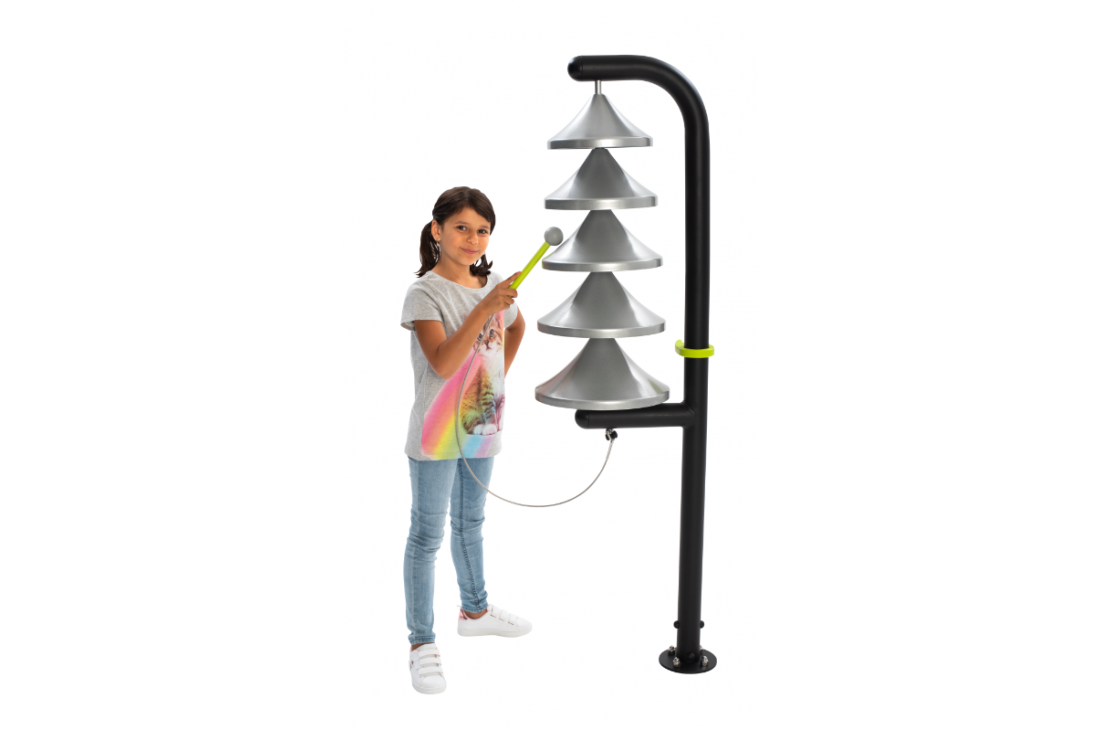 Bells Monk - Musical Instrument Inclusive Commercial Play Equipment