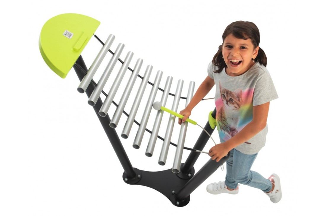 Marimba Stream - Musical Instrument Inclusive Commercial Play Equipment