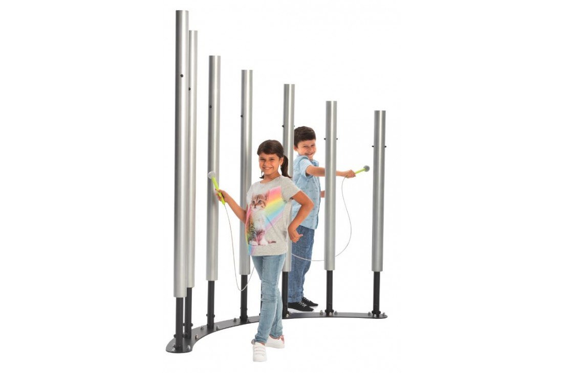 Tubular Bells Forest - Musical Instrument Inclusive Commercial Play Equipment
