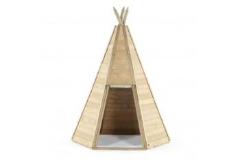 Plum Kids Outdoor Great Wooden Teepee Play Tent