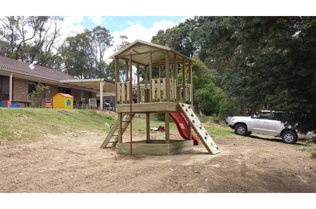 Backyard Wooden Playset PK 1 - 1.2m high, great backyard ...