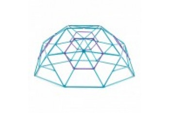 Plum 'Phobo' Metal Dome  Teal/Purple