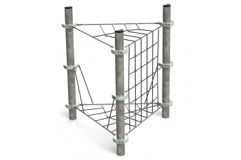 Commercial Inclusive Playground Equipment KBT Rope Structure  Climbing Net PERGOLA