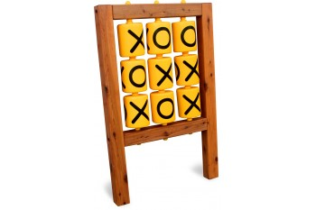 Sensory Panel Tic Tac Toe Timber Frame