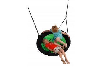 Nest Swing Swibee With Adjustable Ropes (sensory swing) - BLUE/GREEN