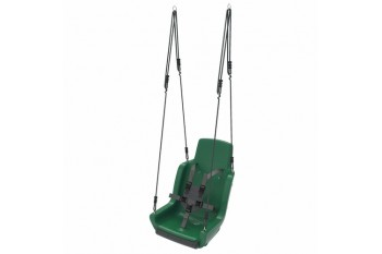 Special needs swing 'rope set' With Safety Harness (sensory swing) - GREEN