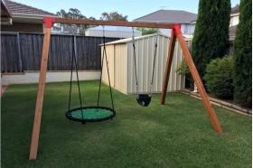 Swing Frames Timber & Steel
