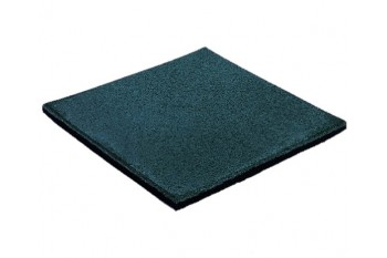 Blue 35mm Rubber Softfall Tiles (2 Pcs Per Bag)