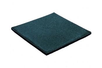 Blue 35mm Rubber Softfall Tiles (1 Tile)