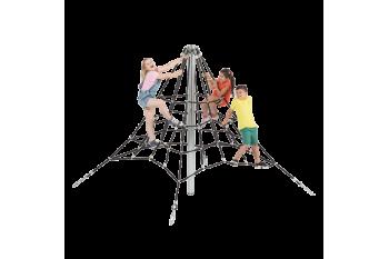 Special Needs Play Equipment Pyramid Net Climber Commercial Grade 2.0m