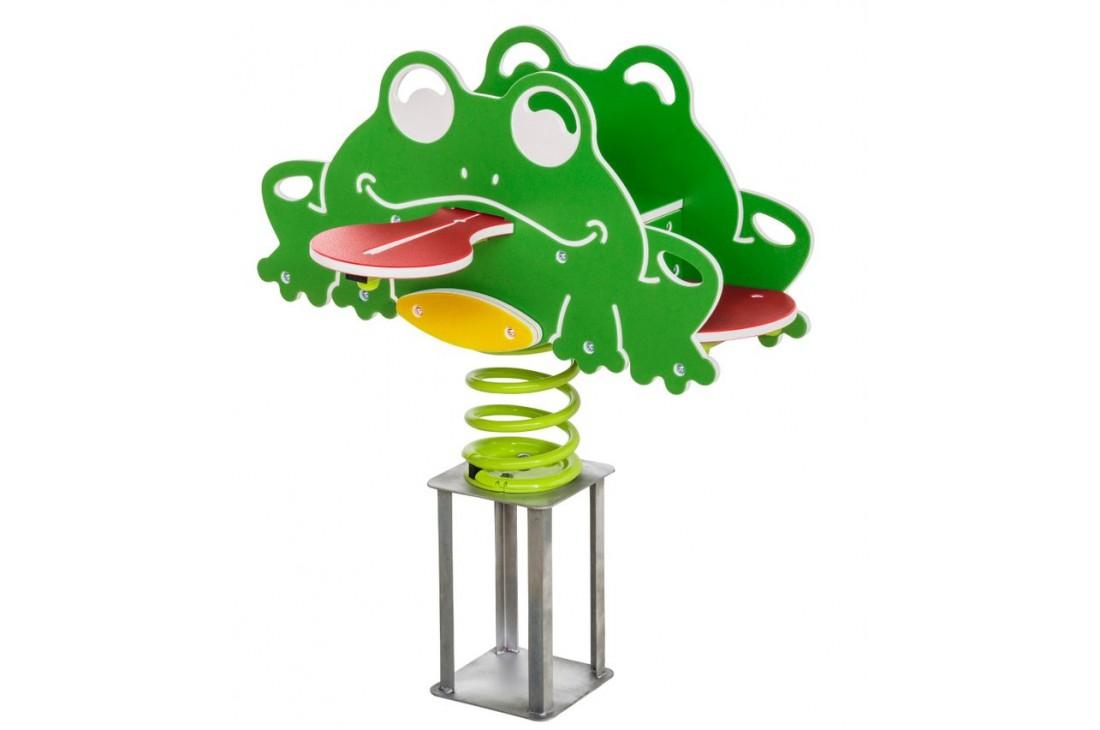 Quadruple Frog Spring Rocker (In Ground)