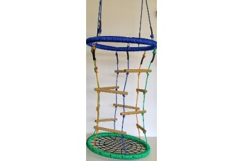 Nest Swing 'Climbing' with Rope Ladder