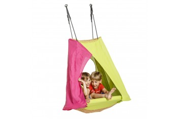 Tent Swing 'weoh' magenta/lime green