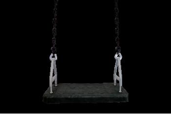 Heavy Duty 'Senior Seat' Swing with Chain