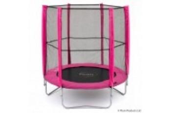 Plum 4.5ft Junior Trampoline and Enclosure - Pink